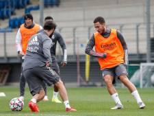 Eden Hazard (enfin) de retour dans le groupe du Real Madrid pour affronter Mönchengladbach