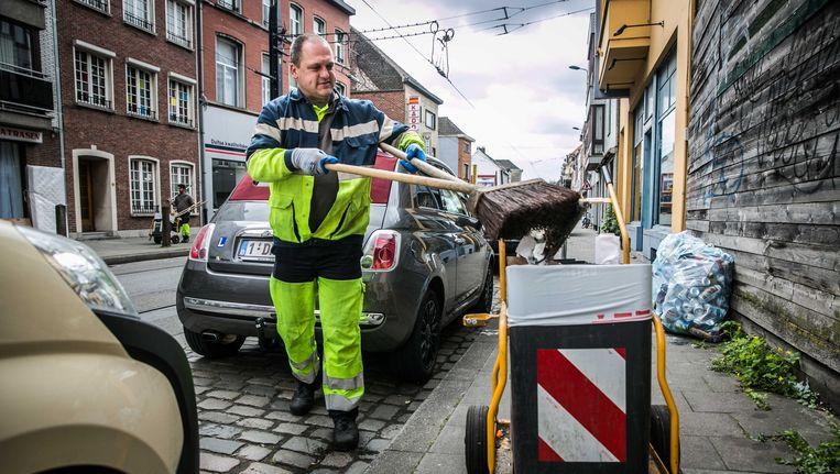 De vuilnismannen van Gent zijn weer aan de slag.