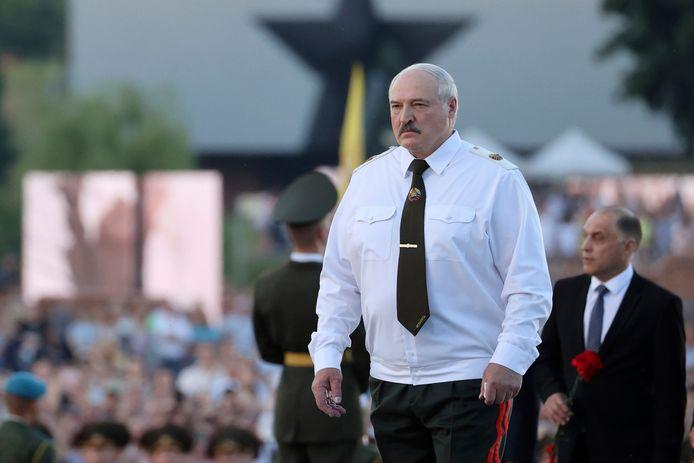 De Wit-Russische president Aleksander Loekasjenko.