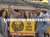 Musical The Lion King verwelkomt miljoenste bezoeker!