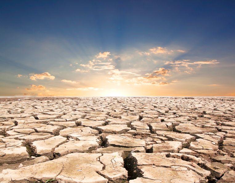 Een derde van de wereldbevolking leeft in gebieden die over 50 jaar even warm zullen zijn als de heetste delen van de Sahara. Beeld Thinkstock