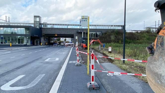 Herinrichting van bushaltes om conflicten tussen wachtende busreizigers en fietsers te vermijden