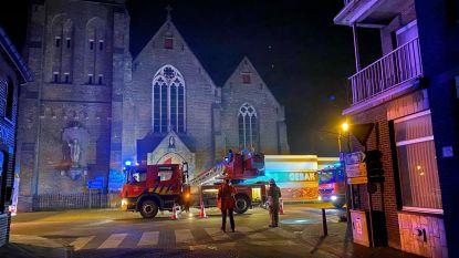 Brand in Sint-Andreaskerk blijkt rook van verwarmingsinstallatie te zijn