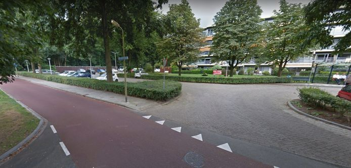 Een deel van de Dorresteinseweg in Amersfoort.