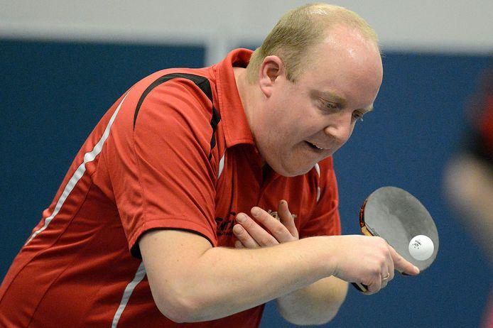 Thijs Smit won de vierde partij in de finale tegen Kampenion, waardoor Entac wederom zegevierde in het top teamtoernooi van Blauw-Wit.