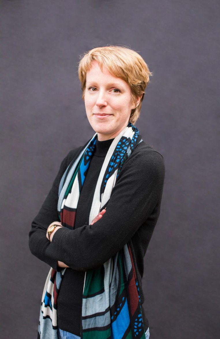Anne Petterson: 'Het nieuwe nationalisme bestaat uit een nationale mythe en ideologie waarin een belangrijke rol is weggelegd voor de Oranjes' Beeld Eva Plevier