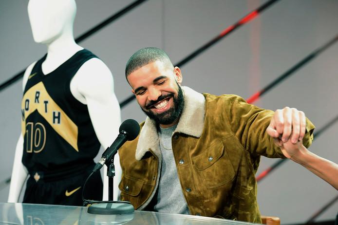 Rapper Drake.