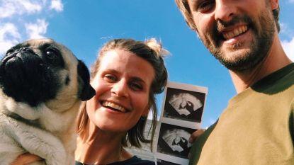 Eva Daeleman (30) in verwachting van eerste kindje