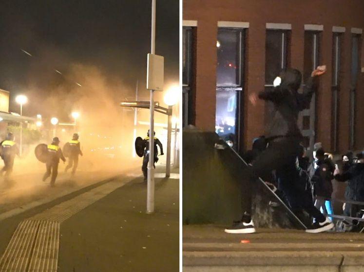 Opnieuw hevige rellen in diverse steden rond avondklok