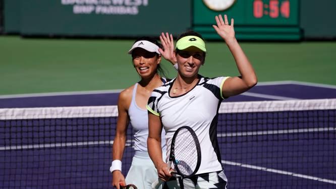 Indian Wells: Elise Mertens et sa partenaire filent en finale du double