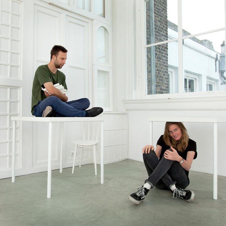 Daniël van der Meer en Maartje Wortel Beeld Maartje Geels