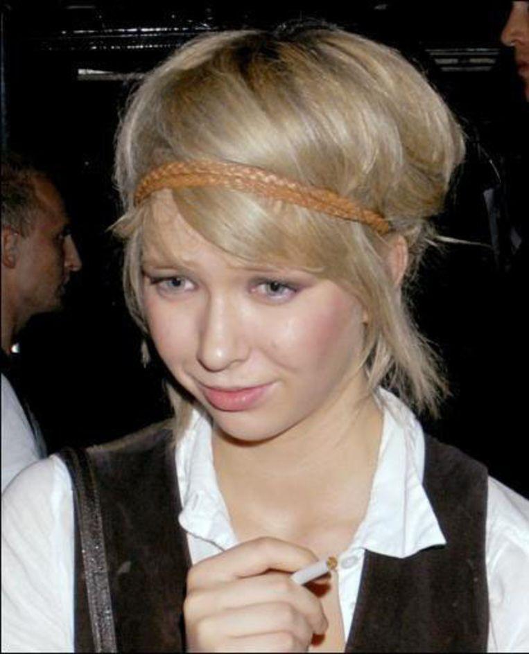 Zijn Russische vriendin Ekaterina Ivanova. Beeld UNKNOWN