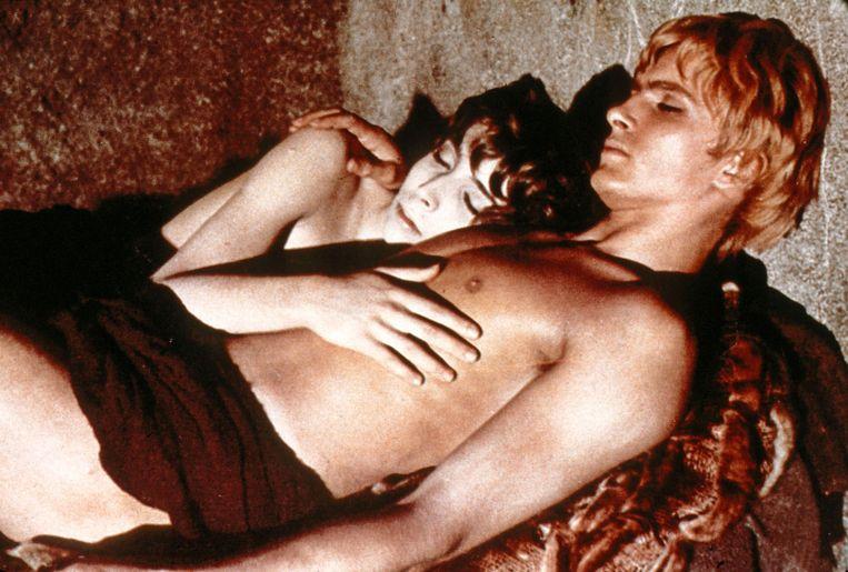 Max Born en Martin Potter in Satyricon (1969) van Fellini. 'Hij vertegenwoordigt verbeelding en energie.' Beeld Ronald Grant Archive / Mary Evan