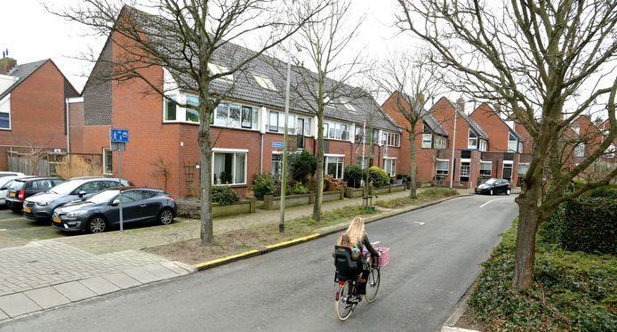 De wijk Rijnsoever in Katwijk-Noord, waar Esther Ouwehand, lijsttrekker van de Partij voor de Dieren, opgroeide.
