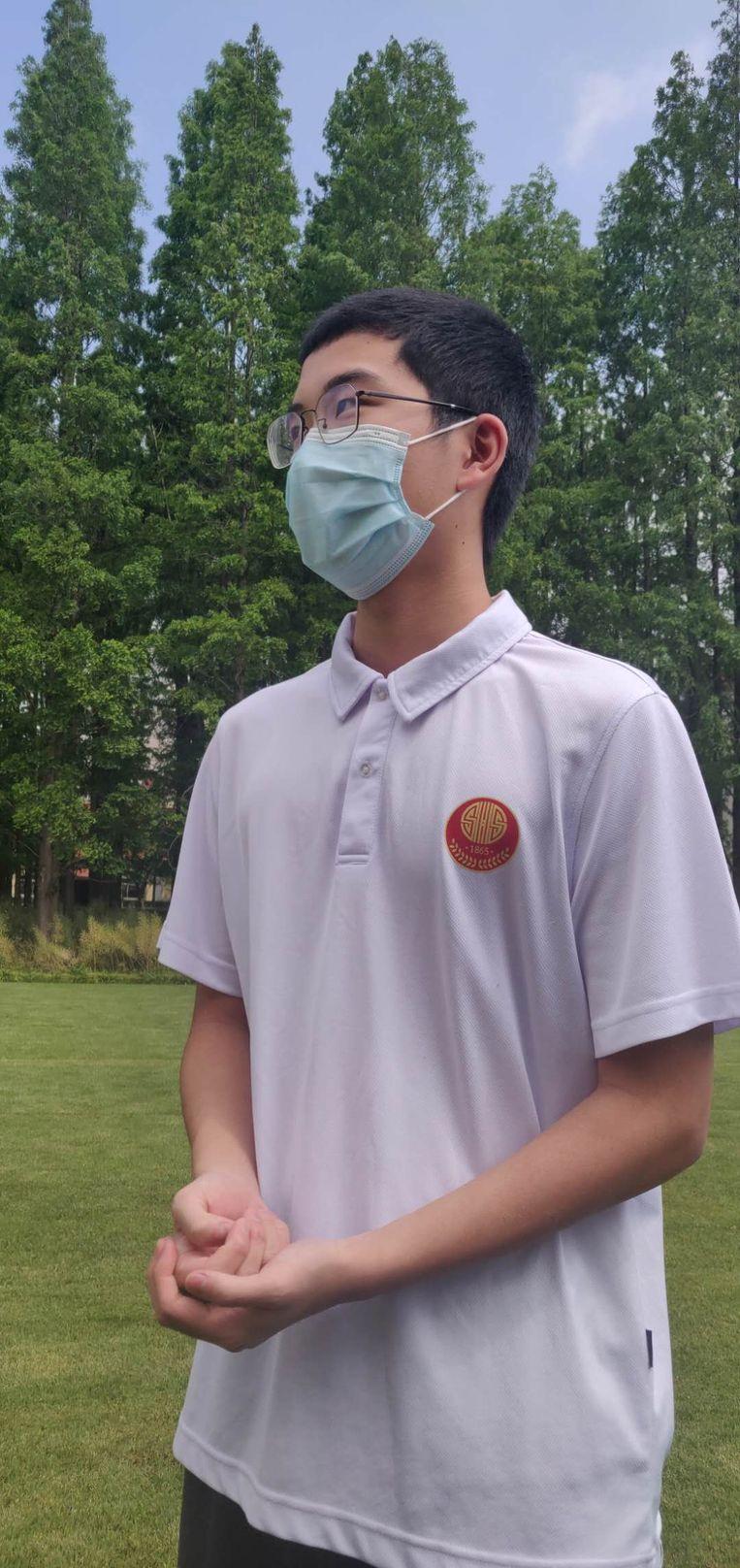 Chen Qing Zhi. Beeld Eefje Rammeloo