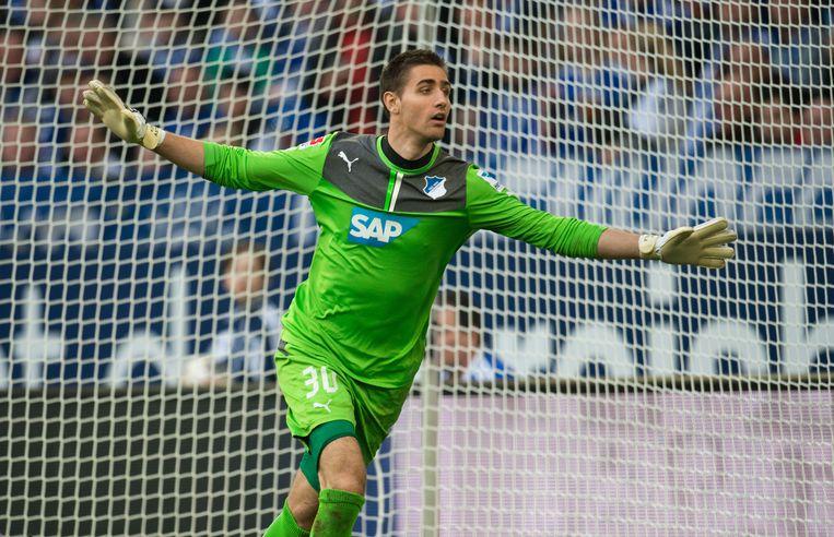 Koen Casteels was van 2011 tot 2015 actief voor Hoffenheim.