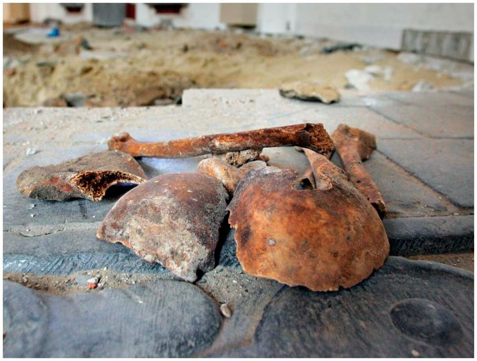 De gemeente Berg en Dal wil de botten van eeuwenoude Groesbekenaren niet terughebben. Foto ter illustratie.