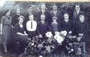 Het gezin Mathijsen van Frans Mathijsen en Jana van Tartwijk telde tien kinderen. Deze foto is uit 1939.