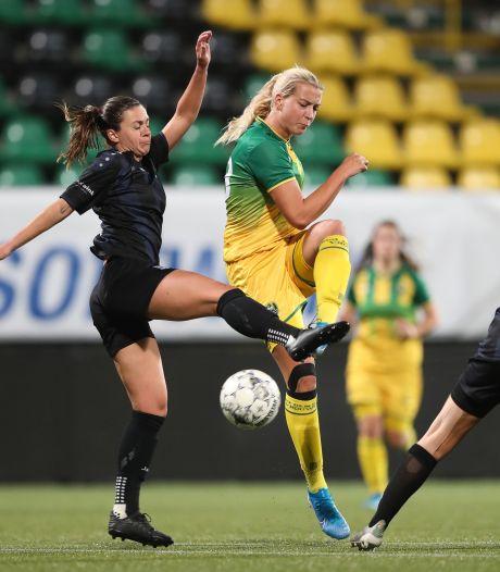 Elise Meijerink uit 't Harde speelt dit seizoen niet meer voor KAA Gent
