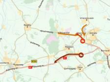 Ongeluk op A1 zorgt voor file tussen Rijssen en Deventer