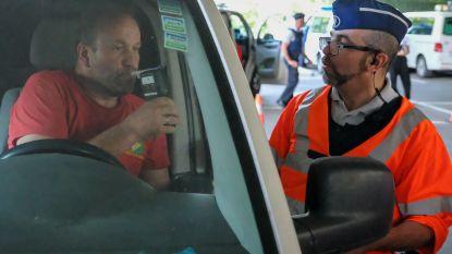 Drie dronken bestuurders betrapt bij grote BOB-controle