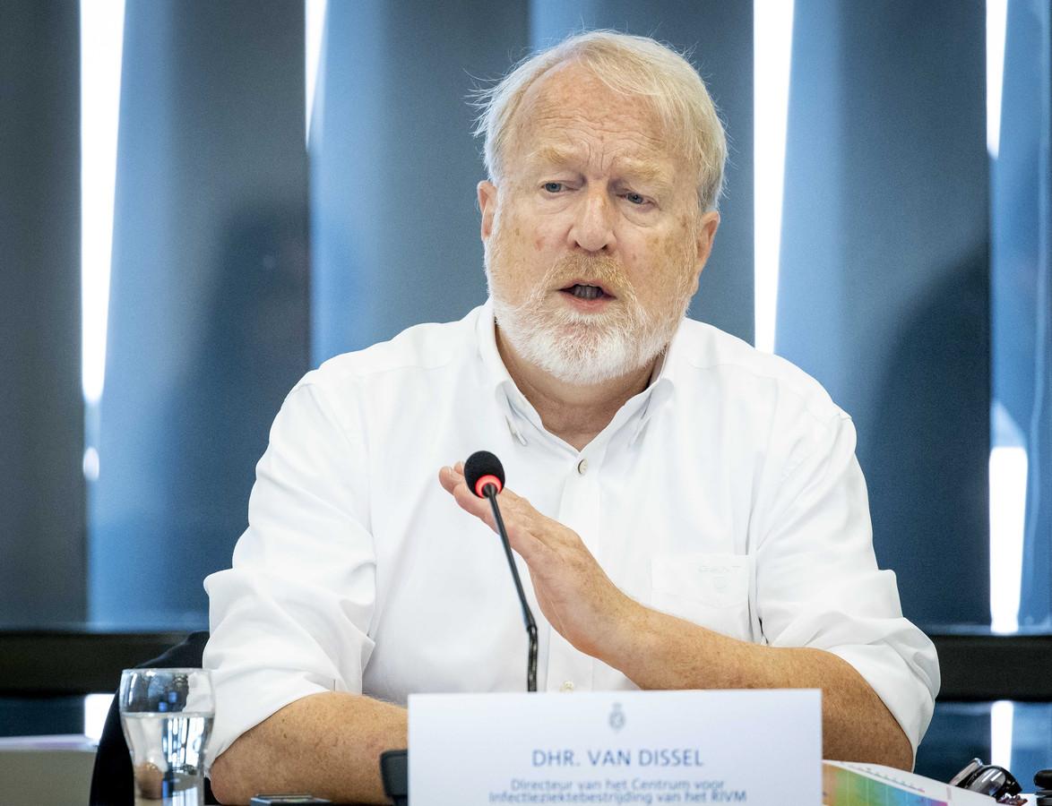 Jaap van Dissel, directeur infectieziektebestrijding van het RIVM.