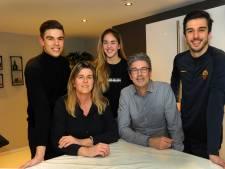Een kijkje binnen bij de sportfamilie De Rijke uit Oost-Souburg: korfbal wint het van voetbal