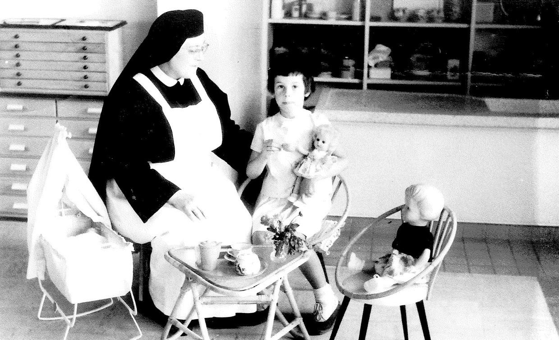 De kleuterschool bij de nonnen. Beeld rv