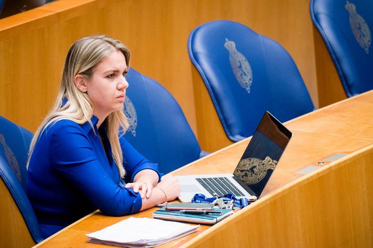 Femke Merel van Kooten-Arissen wil met haar nieuwe partij Splinter weg van 'het hokjesdenken'.  Beeld Freek van den Bergh / de Volkskrant