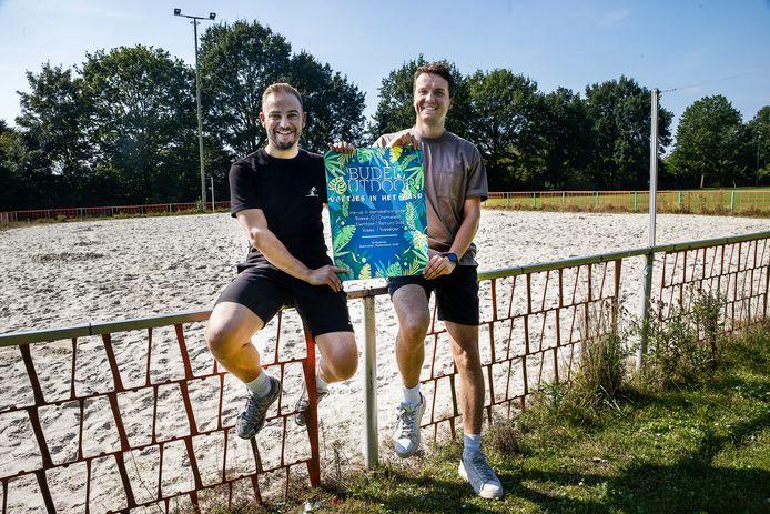 Budelnaren starten met nieuw festival, links Stijn Beerten, rechts Zino Zentjens.