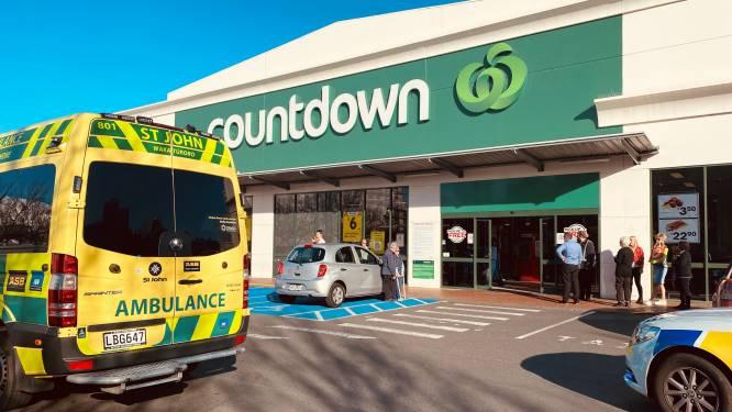 Steekpartij in Nieuw-Zeelandse supermarkt: minstens vier gewonden