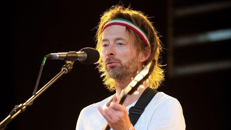 Thom Yorke. Beeld AFP