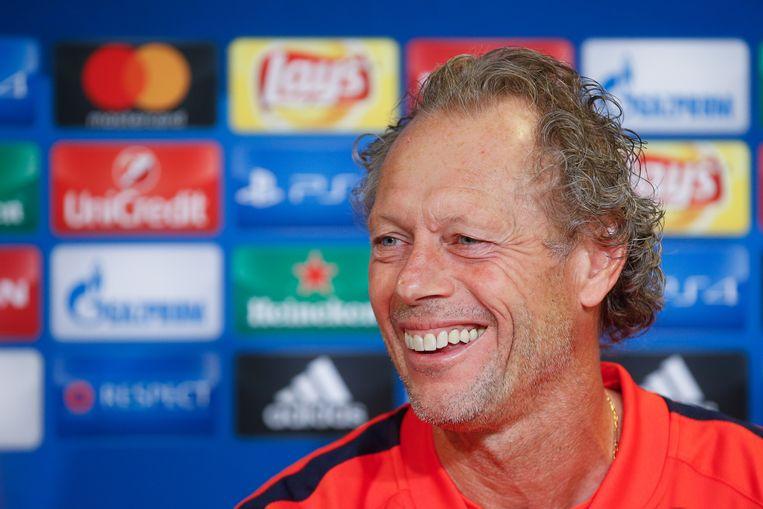 Club Brugge-coach Michel Preud'homme kan zich vanavond geen nieuw verlies veroorloven. Beeld BELGA