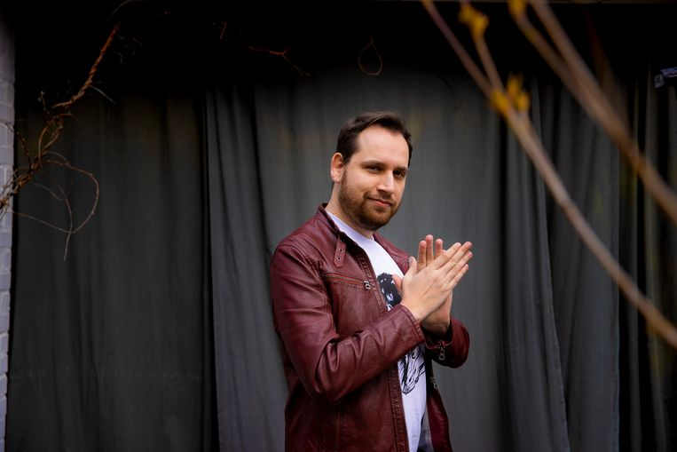 Comedian Xander De Rycke. Beeld Jan De Meuleneir / Photo News