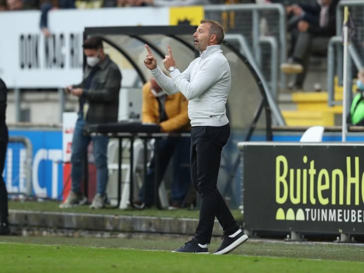 NAC-trainer Steijn is vooral boos op de KNVB: 'Het is een stukje competitievervalsing'