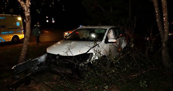 Gewonde door ongeluk op rotonde in Cuijk.