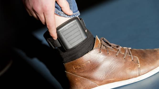 40 procent meer gevangenen met elektronische enkelband