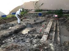 Archeologen stuiten op een bak schone vette klei van 300 jaar oud: 'Vervuiling is vaak archeologie'