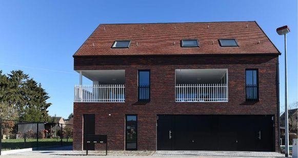 De appartementen in de Lindenweg.