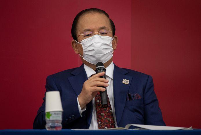 Toshiro Muto, CEO van de Olympische Spelen 2021.