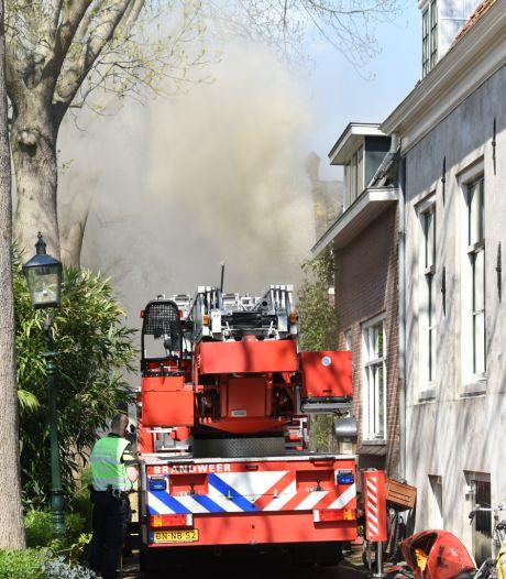 Groot alarm om uitslaande brand in centrum van IJsselstein