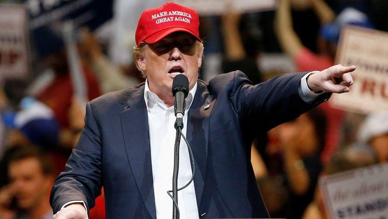Donald Trump Beeld AP