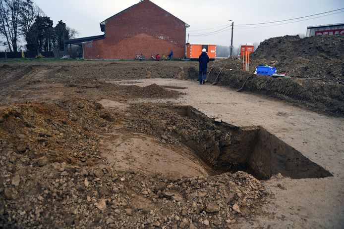 De archeologen willen nu het loopgravenstelsel verder in kaart brengen.