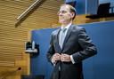 Menno Snel, staatssecretaris van Financiën tussen 2017 en 2019, wordt gehoord door de parlementaire enquêtecommissie Kinderopvangtoeslag.