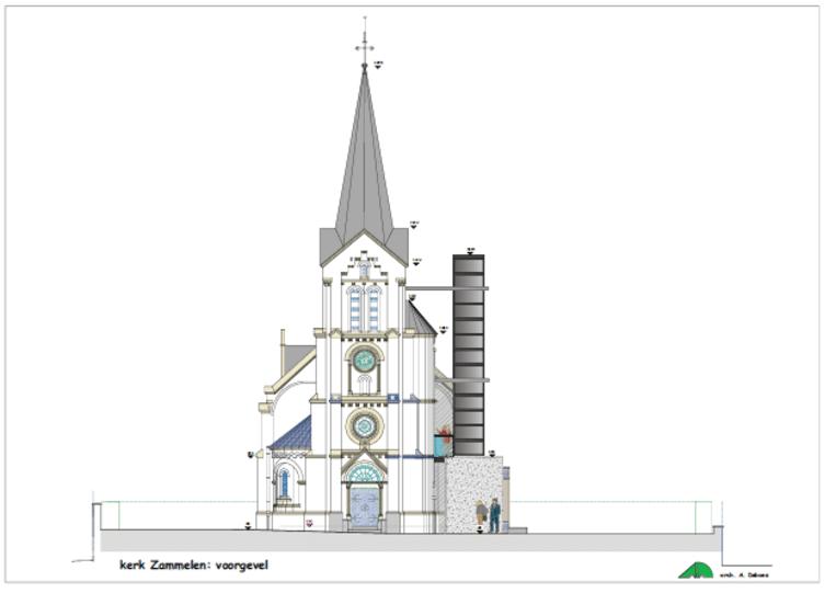 Het ontwerp van architecte Annick Deboes
