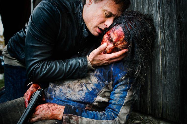 Michael Nyqvist en Noomi Rapace in Millennium 2: De vrouw die met vuur speelde. Beeld