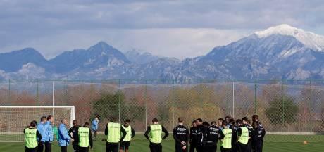 Go Ahead Eagles belegt winters trainingskamp in Turkse Belek