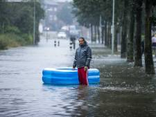 Limburgse wielerkoers afgelast door wateroverlast, ook voetbalclubs geteisterd door noodweer