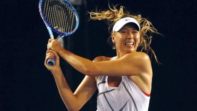 TAS maakt beslissing over schorsing Sharapova morgen bekend