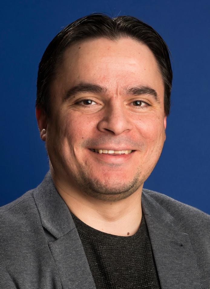 Salih Akca, gemeenteraadslid Vlaardingen.
